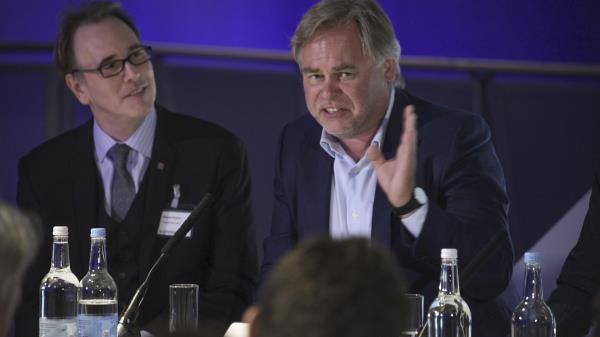 Eugene Kaspersky (right) said not enough is being done to defend ICSs against hack attacks.