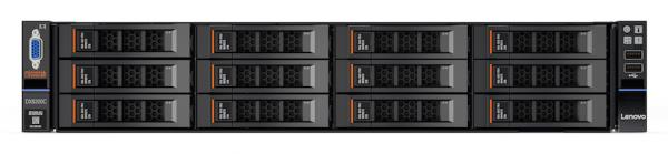 The new StorSelect DX8200C combines Lenovo's servers with Cloudian's HyperStore smart object storage software.