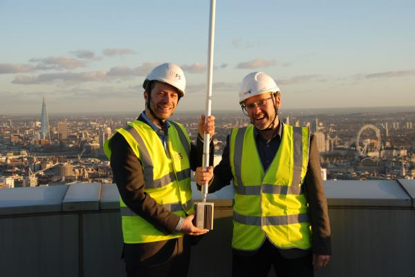BT Tower will host a low power long range radio device as part of an Internet of Things network across London.