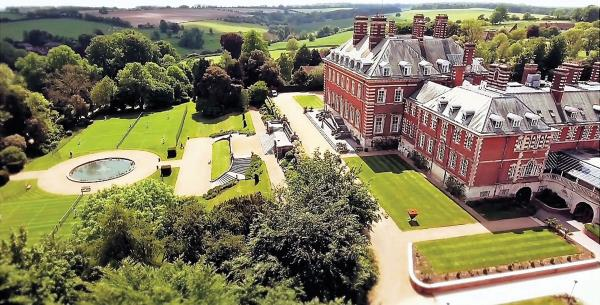 Bryanston School is set in 400 acres of Dorset countryside.