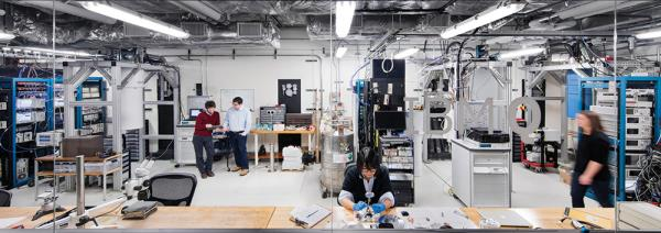 The Q Lab where IBM is building commercially available universal quantum computing systems.
