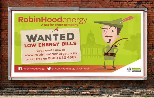 Robin Hood Energy launched in September 2015 after being setup from scratch with limited resources in a vacant city centre council office in Nottingham.