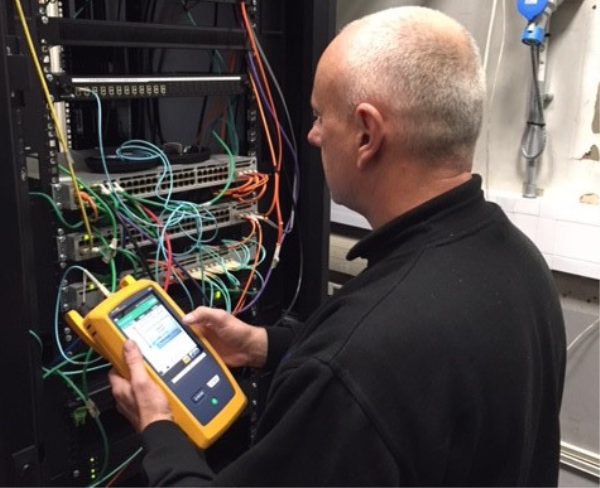 Fluke's OptiFiber Pro has SmartLoop technology to enable the testing of two fibres in a single test.