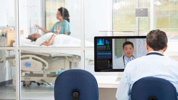 "According to Polycom, ""healthcare runs on content"". The telepresence specialist says there's now a lot more collaboration between medical practitioners, and increasingly via video."