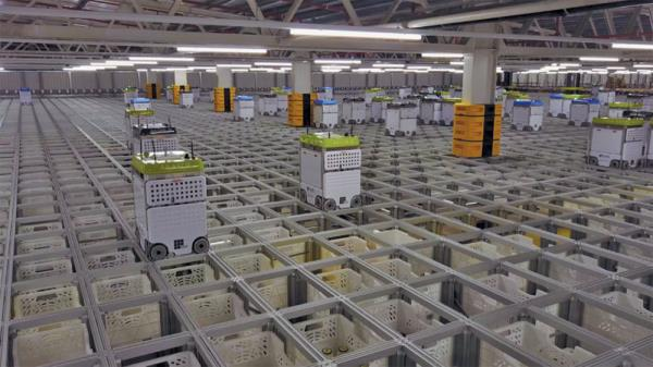 Ocado is running Kubermesh at its highly-automated customer fulfilment centre which includes thousands of robots roaming on top of a grid.