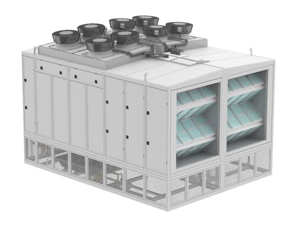 Schneider Electric says indirect air economisation systems like its new Ecoflair can be deployed regardless of most environmental or climactic conditions.