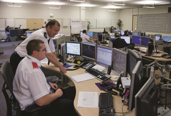 10 UPS devices support critical ICT equipment across various police and fire service sites.