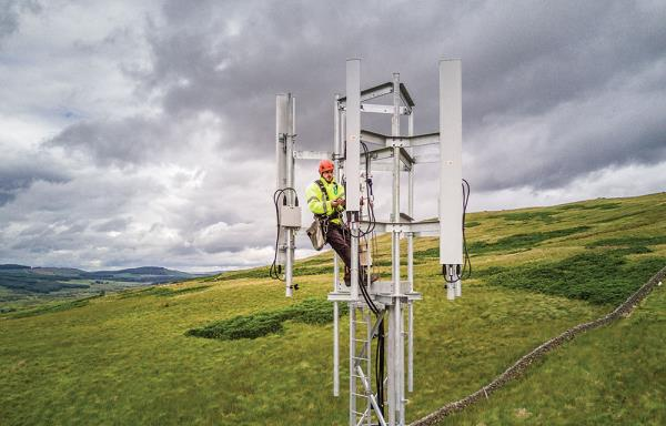 The operator that will be the most affected by Ofcom's proposed spectrum caps is BT/EE which already holds about 42 per cent of all available cellular frequencies. PHOTO: EE