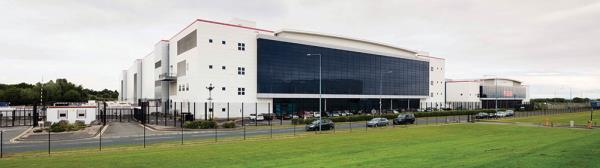 NGD's carrier-neutral Tier 3 facility in South Wales offers a gross internal area of 750,000ft2 and can house up to 22,000 racks.