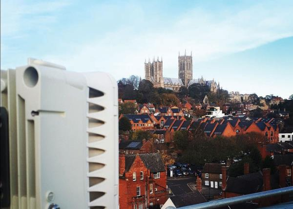 Lincoln Council upgraded 300 CCTV cameras to a new wireless high definition 4K UHD system after a £400,000 investment