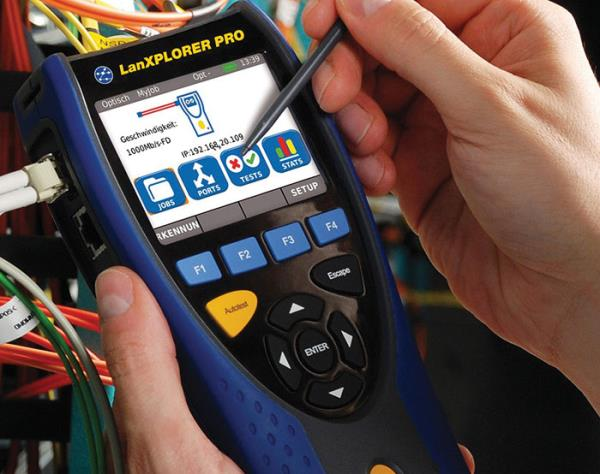 IDEAL Networks says a handheld tester, such as its LanXPLORER PRO for example, can detect issues where two different devices are using the same IP address or where two IP addresses are coming from the same MAC. Both are indicators of an unauthorised device on the network.