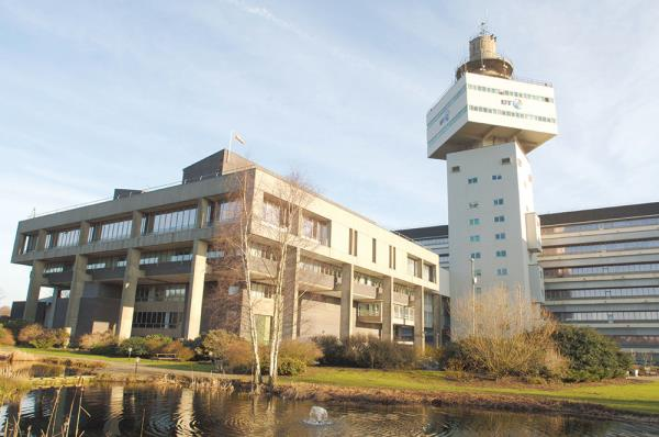 The network ran across a standard fibre connection from Cambridge to BT's labs at Adastral Park in Ipswich (pictured) in what's claimed to be less than a thousandth of a second.