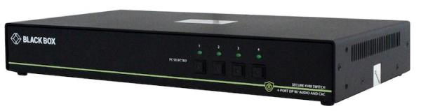 "Black Box reckons its new KVM switches deliver peripheral access with ""military grade"" security against cyber threats."