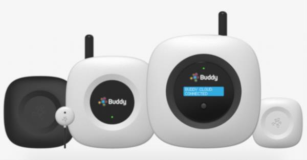 Pangea says its system is installed in a few hours with a 'Fitbit' device that clips onto a surface in the building. This then communicates with Buddy Platform via Pangea's cellular IoT connectivity.