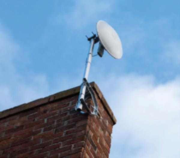 Airband's fixed wireless broadband network works by sending a radio signal from a transmitter site to a small receiver attached to the customer's property. In February, the ISP went live with superfast broadband services in rural Shropshire after launching its first transmitter site which provides connectivity of 30Mbps.