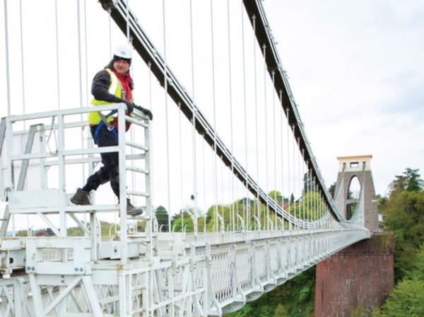 "Gigaclear has laid fibre under the Clifton Suspension Bridge as part of a deployment to connect ""forgotten communities"" in North Somerset."