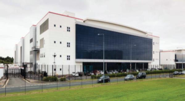 NGD's facility in South Wales offers 750,000ft2 of technical space and can house up to 22,000 racks