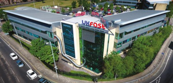 UKFast caters for more than 5,000 clients from its HQ in Manchester (pictured) and office in London.
