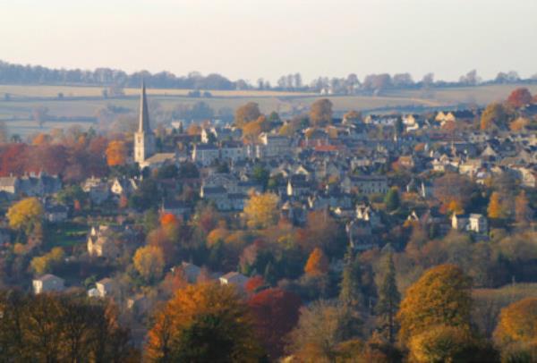 Painswick village