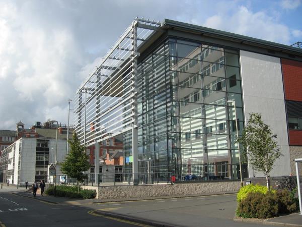 De Montfort University campus centre