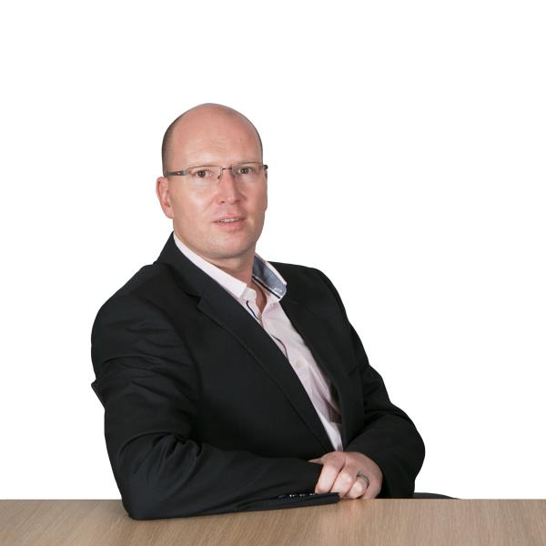 Gerhard Fourie, district channel manager for Commvault